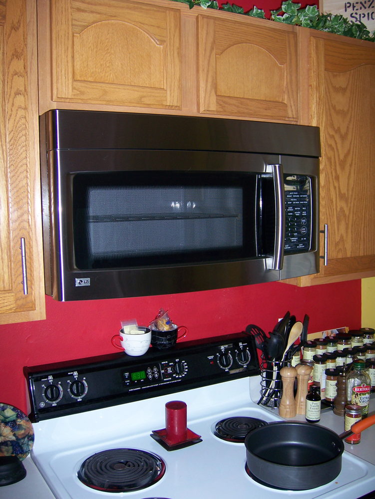Microwave Ovens How To Install An Over The Range Oven